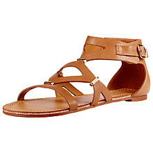 Buy John Lewis Pomegranate Flat Sandals Online at johnlewis.com