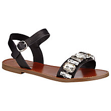 Buy John Lewis Redcurrent Jewel Embellished Sandals Online at johnlewis.com