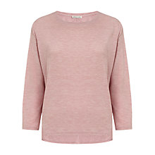 Buy Whistles Lauren Marl Jersey Top, Pink Online at johnlewis.com