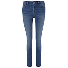 Buy Whistles Mid-Wash Skinny Jeans, Denim Online at johnlewis.com