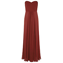Buy Kaliko Strapless Maxi Dress, Red Online at johnlewis.com