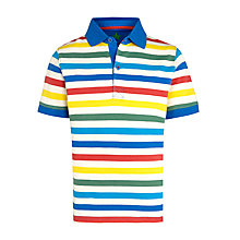 Buy John Lewis Boy Stripe Polo Shirt, Multi Online at johnlewis.com
