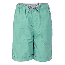 Buy John Lewis Boy Poplin Elastic Drawstring Shorts Online at johnlewis.com