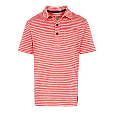 Buy John Lewis Boy Fine Stripe Polo Shirt Online at johnlewis.com