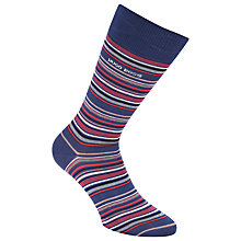 Buy BOSS Striped Cotton Socks Online at johnlewis.com