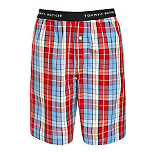 Buy Tommy Hilfiger Lew Lounge Shorts, Red Online at johnlewis.com