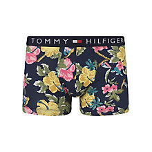Buy Tommy Hilfiger Trop Floral Print Trunks, Navy Floral Online at johnlewis.com