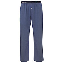 Buy Tommy Hilfiger Jil Woven Herringbone Lounge Pants, Blue Online at johnlewis.com