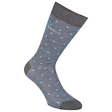 Buy BOSS George Dots Socks Online at johnlewis.com