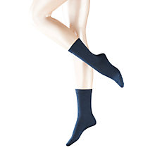 Buy Falke Cotton Touch Ankle Socks, Shirt White Online at johnlewis.com