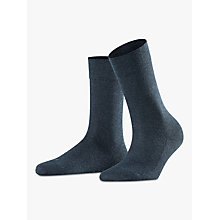 Buy Falke London Sensitive Ankle Socks, Navy Online at johnlewis.com