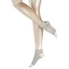 Buy Falke Even Stripe Short Ankle Socks Online at johnlewis.com