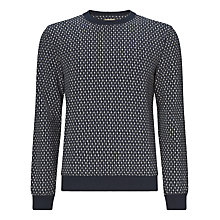 Buy JOHN LEWIS & Co. St Basils Printed Dragonfly Sweatshirt, Navy Online at johnlewis.com