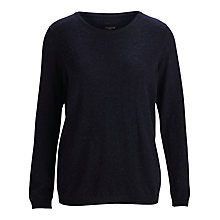 Buy Selected Femme Taia Knit Jumper, Sky Captain Online at johnlewis.com