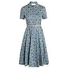 Buy Weekend by MaxMara Egemoni Floral Cotton Dress, Ultramarine Online at johnlewis.com