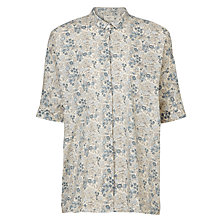 Buy Weekend by MaxMara Floral Top, Sky Blue Online at johnlewis.com