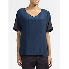 Buy Weekend by MaxMara Silk Top, Ultramarine Online at johnlewis.com