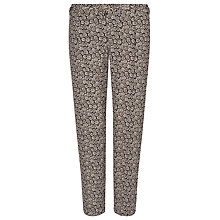 Buy Weekend by MaxMara Daisy Print Trousers, Light Pink Online at johnlewis.com
