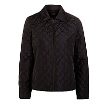 Buy Weekend by MaxMara Quilt Jacket, Black Online at johnlewis.com