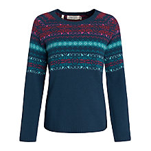 Buy Seasalt Ley Stone Jumper, Leddra Chough Online at johnlewis.com