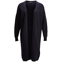 Buy Selected Femme Kitty Long Cardigan, Sky Captain Online at johnlewis.com