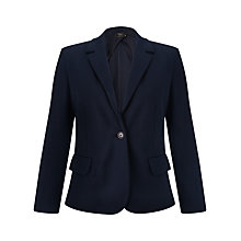 Buy Weekend by MaxMara Jersey Jacket, Ultramarine Online at johnlewis.com
