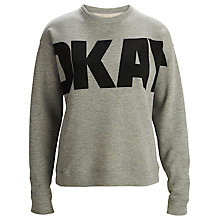 Buy Selected Femme Okay Sweatshirt, Light Grey Online at johnlewis.com