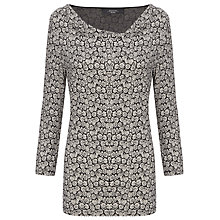 Buy Weekend by MaxMara Daisy Cowl Neck Top, Black Online at johnlewis.com