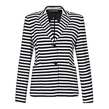Buy Weekend by MaxMara Elica Jersey Jacket, Ultramarine Online at johnlewis.com