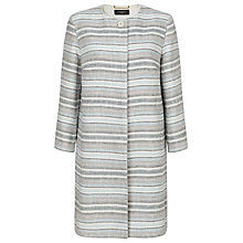 Buy Weekend by MaxMara Stripe Coat, Ultramarine Online at johnlewis.com