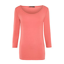 Buy Weekend by MaxMara Multi 3/4 Sleeve Top, Light Pink Online at johnlewis.com
