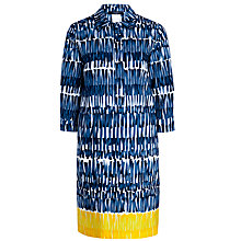 Buy Weekend by MaxMara Patata Print Cotton Dress, Ultramarine Online at johnlewis.com
