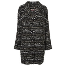 Buy Phase Eight Ollie Ombre Coat, Black/Grey Online at johnlewis.com