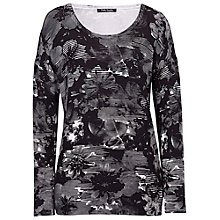 Buy Betty Barclay Graphic Print Jumper, Black Multi Online at johnlewis.com
