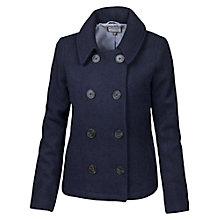 Buy Fat Face Cropped Peacoat, Navy Online at johnlewis.com