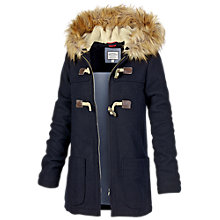 Buy Fat Face Faux Fur Duffle Online at johnlewis.com