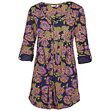Buy Fat Face Button Through Tunic Dress, Multi Online at johnlewis.com