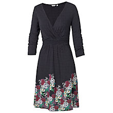 Buy Fat Face Connie Rhododendron Dress, Phantom Online at johnlewis.com