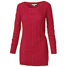 Buy Fat Face Cove Cable Tunic Knitted Jumper Online at johnlewis.com