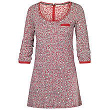 Buy Fat Face Kadi Primrose Ditsy Cotton Tunic, Crimson Online at johnlewis.com