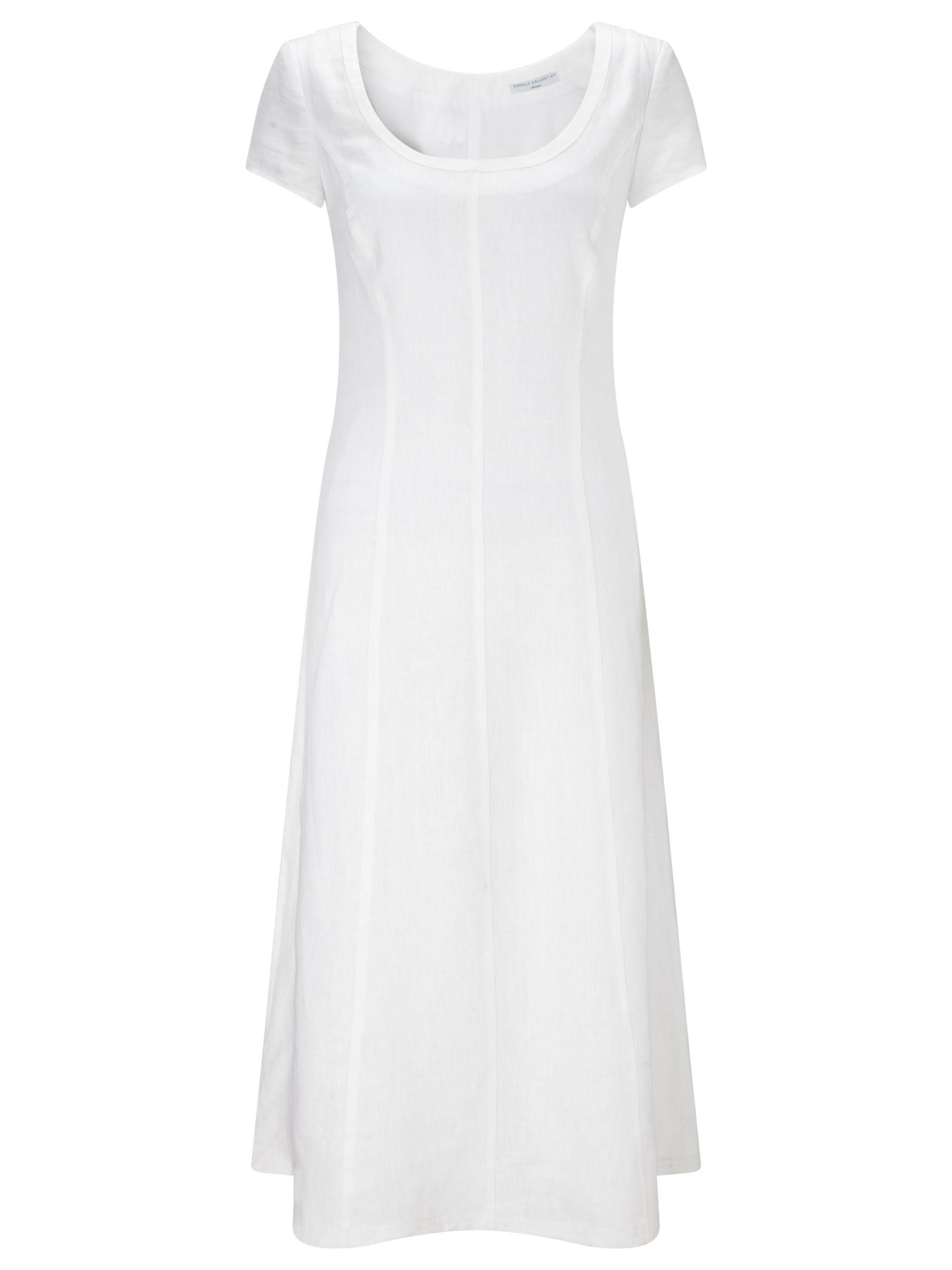 john lewis capsule collection linen dress white, john, lewis, capsule, collection, linen, dress, white, john lewis capsule collection, 14 18 10 16 20 12, women, womens dresses, brands a-k, 1913949