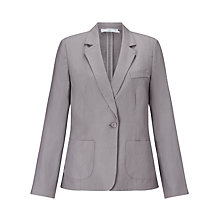 Buy John Lewis Capsule Collection Long Sleeved One Button Linen Jacket Online at johnlewis.com