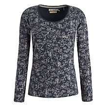 Buy Seasalt Tianna Top, Polruan Blossom Squid Online at johnlewis.com