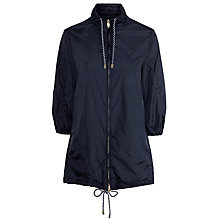 Buy Armani Jeans Shower Proof Hooded Coat, Navy Online at johnlewis.com