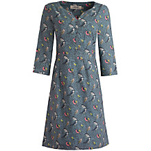 Buy Seasalt Bunting Dress, Cornish Birds Pumice Online at johnlewis.com