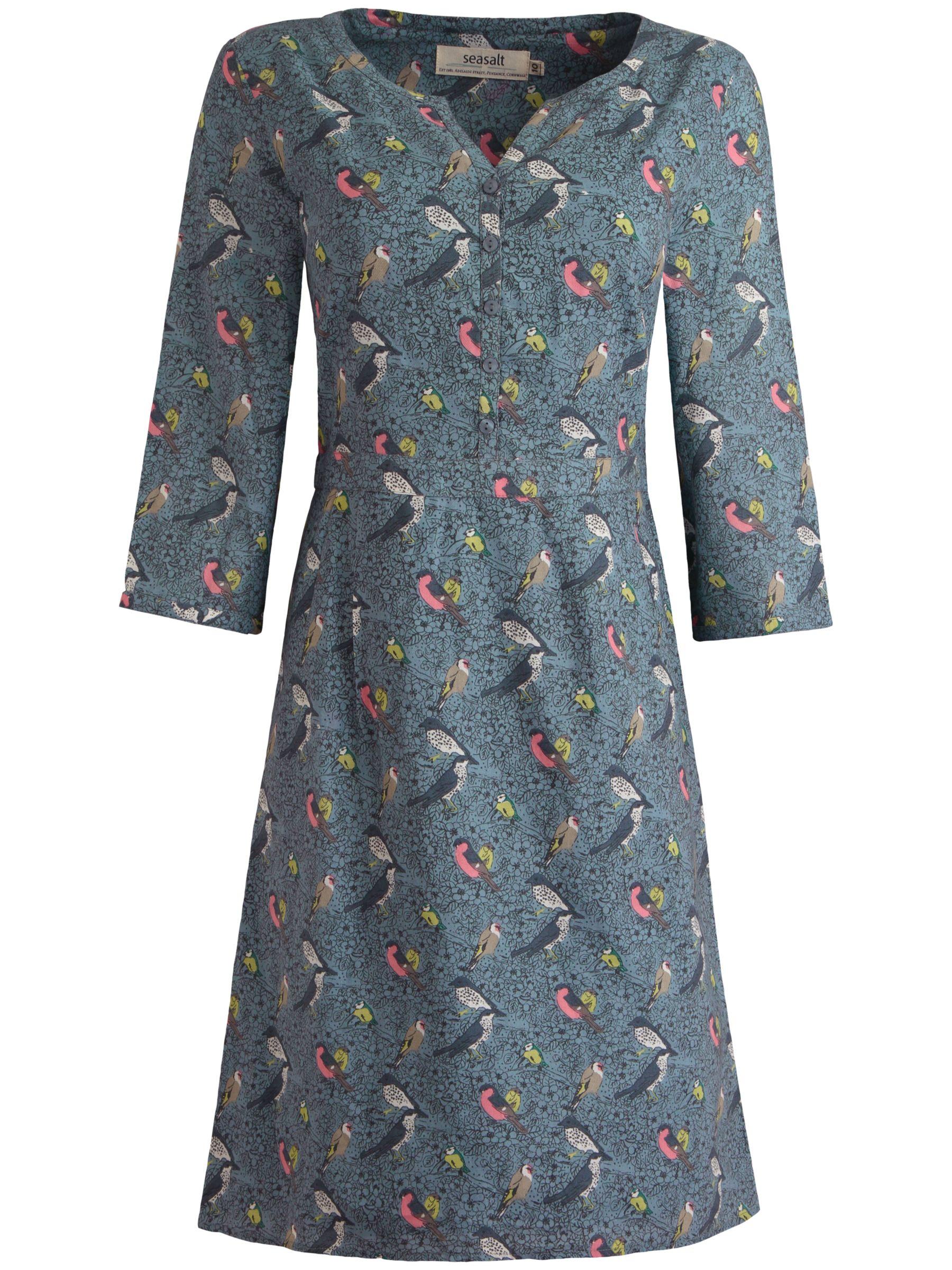seasalt bunting dress cornish birds pumice, seasalt, bunting, dress, cornish, birds, pumice, 12|10|14|16|8, women, womens dresses, 1783151