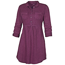 Buy Fat Face Peter Pan Cotton Jersey Tunic, Amethyst Online at johnlewis.com