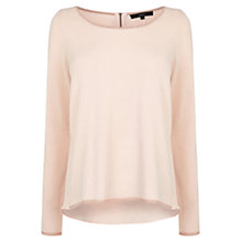 Buy Coast Lowe Knit Top, Blush Online at johnlewis.com
