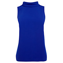 Buy Coast Queens Shell Top, Cobalt Blue Online at johnlewis.com
