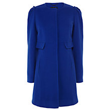 Buy Coast Maddison Wool and Cashmere Blend Coat, Cobalt Blue Online at johnlewis.com